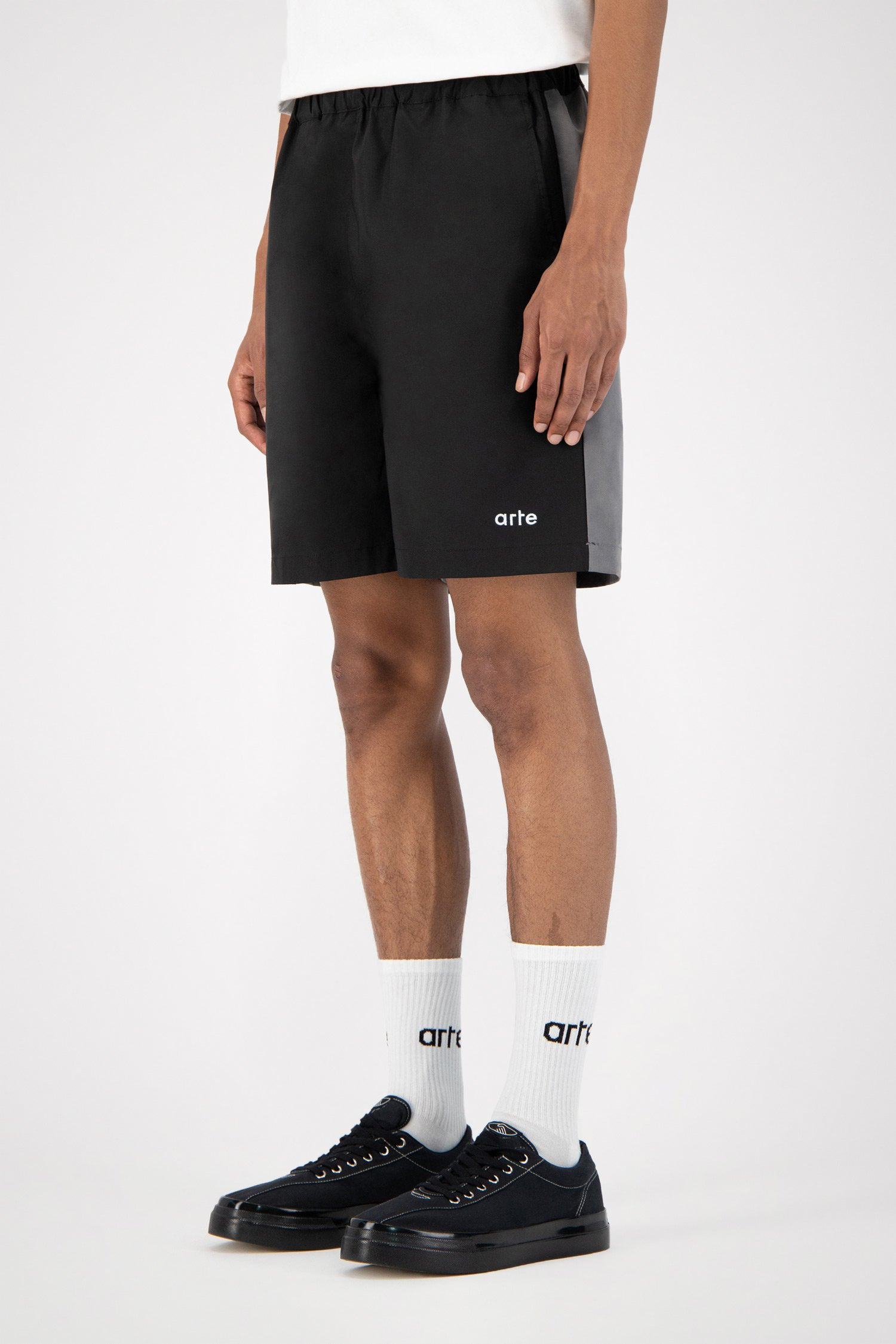 Spurs Black Shorts