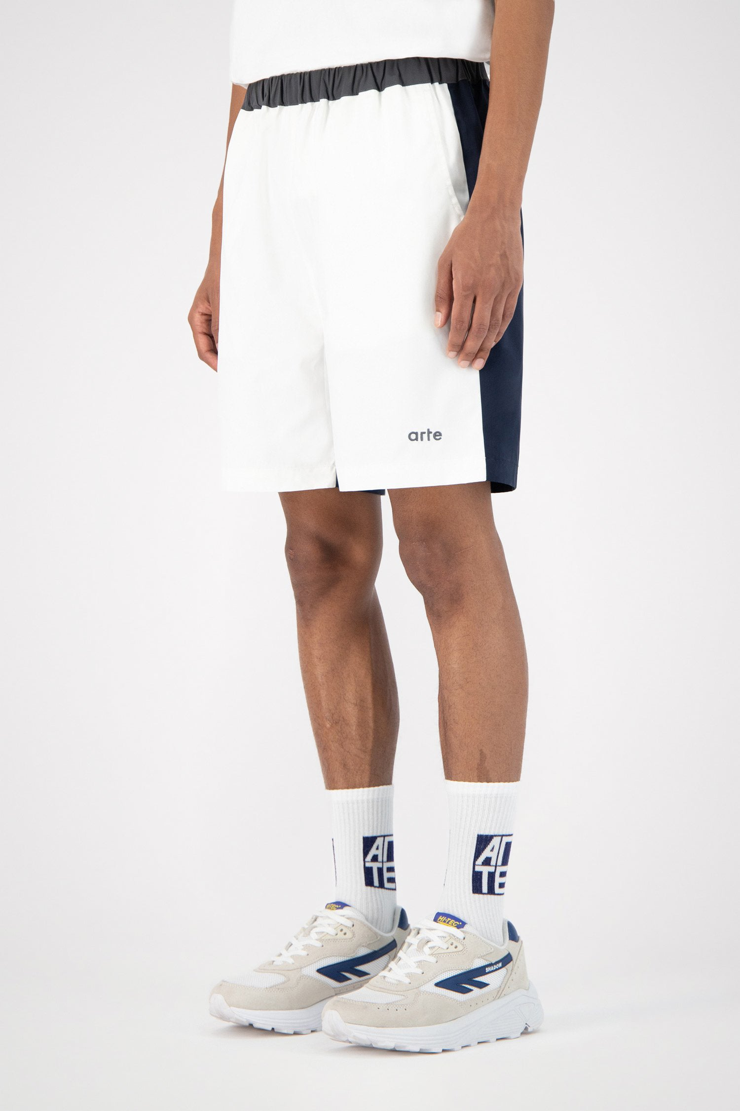 Spurs White Shorts