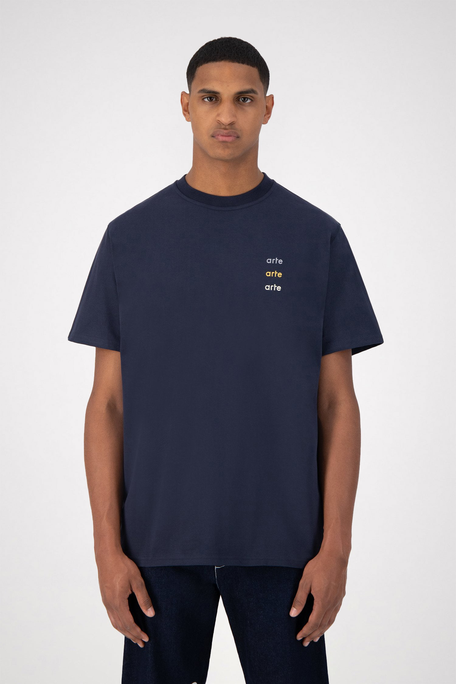 Tomi Multi Logo T-shirt - Navy