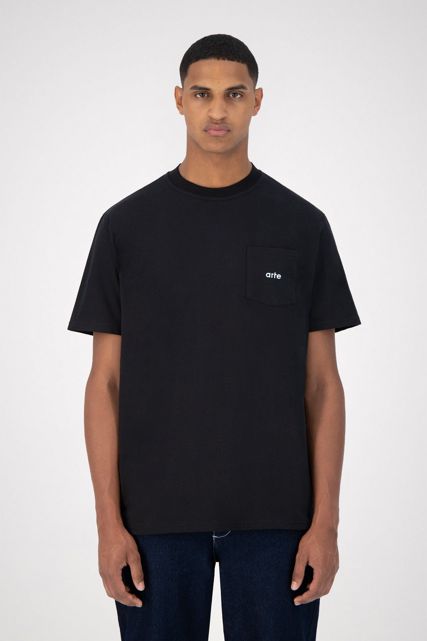 Tomi Pocket T-shirt - Black