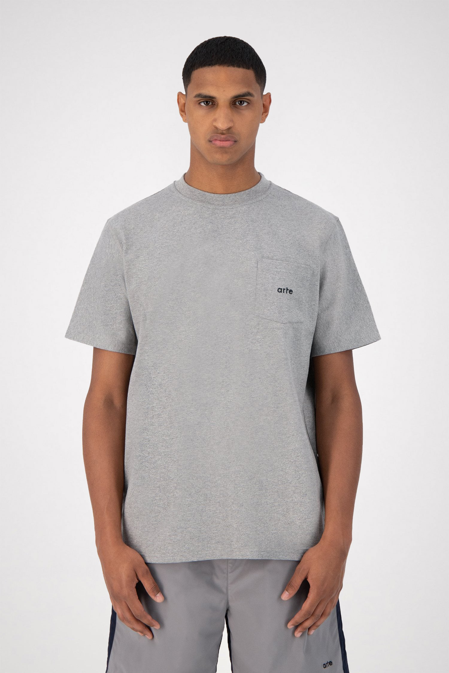 Tomi Pocket T-shirt - Grey