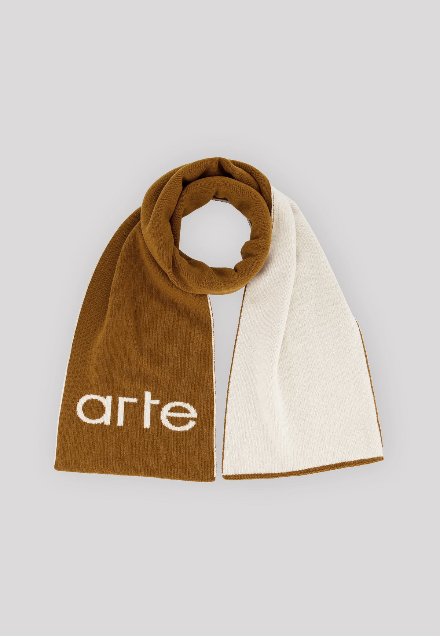 Alex Antwerp Scarf - Brown