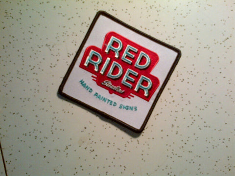 Red Rider Logo Patch