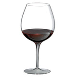 Invisibles Burgundy/Pinot Noir Glass (Set of 4) with Free Microfiber Cleaning Cloth