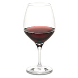 Vintner's Choice Burgundy/Pinot Noir Glass (Set of 4) with Free Microfiber Cleaning Cloth
