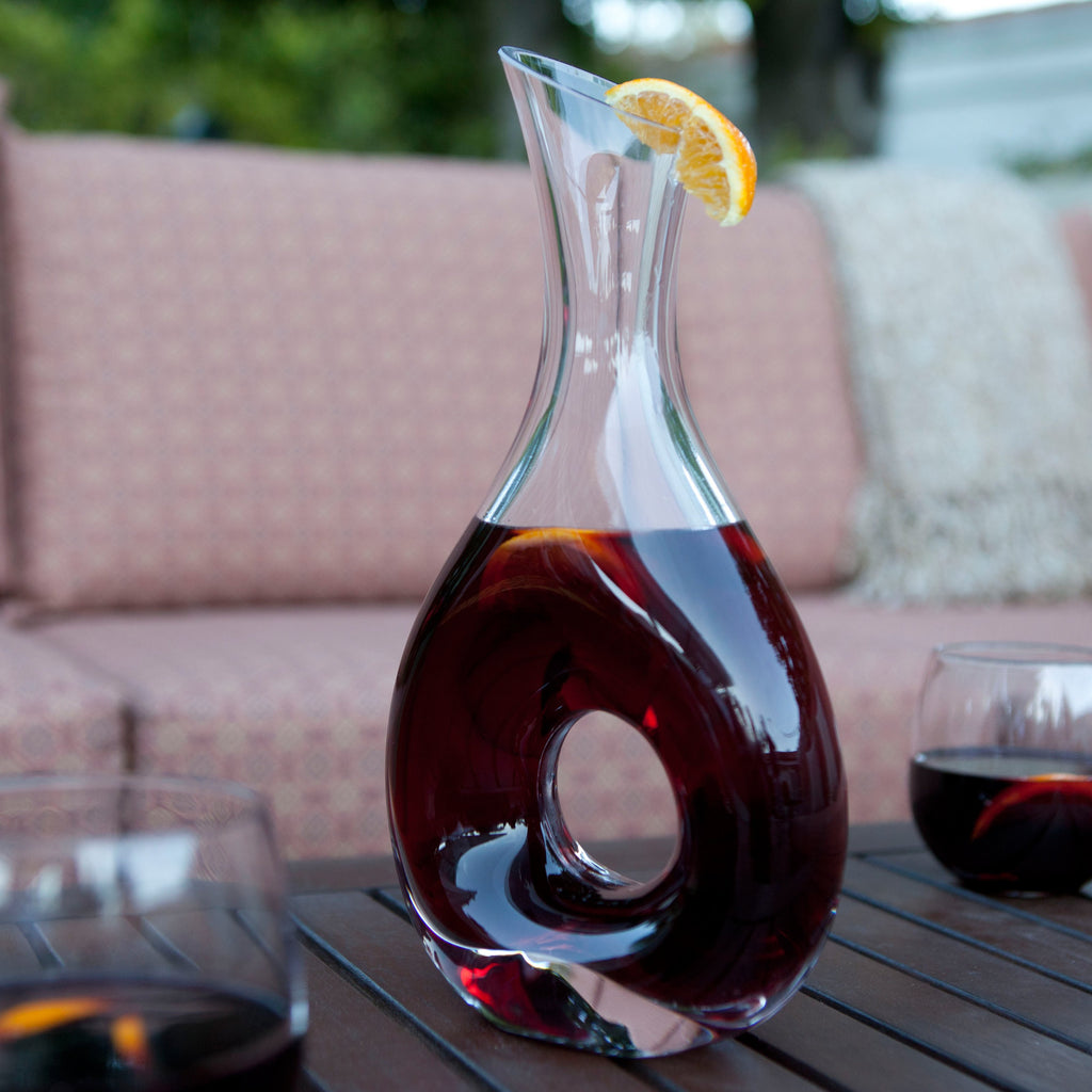 Omega Carafe with Free Luxury Satin Decanter Bag