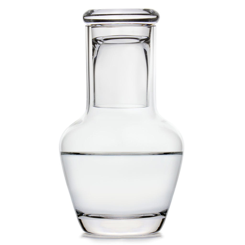 Waldorf Water Carafe with Free Microfiber Cleaning Cloth
