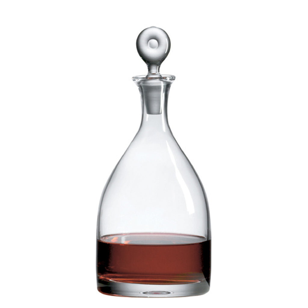 Monticello Magnum Decanter with Free Luxury Satin Decanter and Stopper Bags