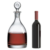 Monticello Imperial Decanter with Free Luxury Satin Decanter and Stopper Bags