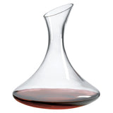 Burgundy Wine Series Gift Set with Free Luxury Satin Decanter and Stopper Bags and Microfiber Cleaning Cloth