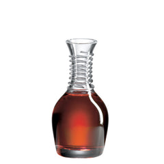 Beveled Blade Decanter with Free Luxury Satin Decanter and Stopper Bags