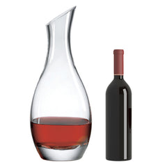 Classic Double Magnum Decanter with Free Microfiber Cleaning Cloth