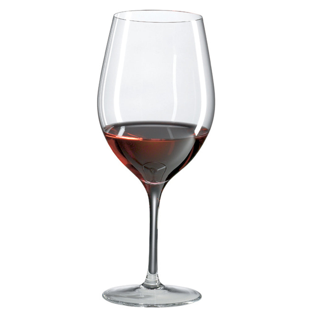 Classics Bordeaux Glass (Set of 4) with Free Microfiber Cleaning Cloth