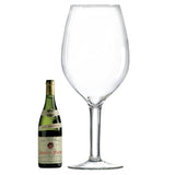 Maxi Bordeaux Glass (1 Glass) with Free Microfiber Cleaning Cloth