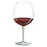 Classics Burgundy Glass (Set of 4) with Free Microfiber Cleaning Cloth