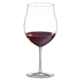 Classics Burgundy Grand Cru Glass (Set of 4) with Free Microfiber Cleaning Cloth