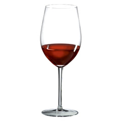 Stemless Bordeaux/Cabernet/Merlot Glass (Set of 8) with Free Microfiber Cleaning Cloth