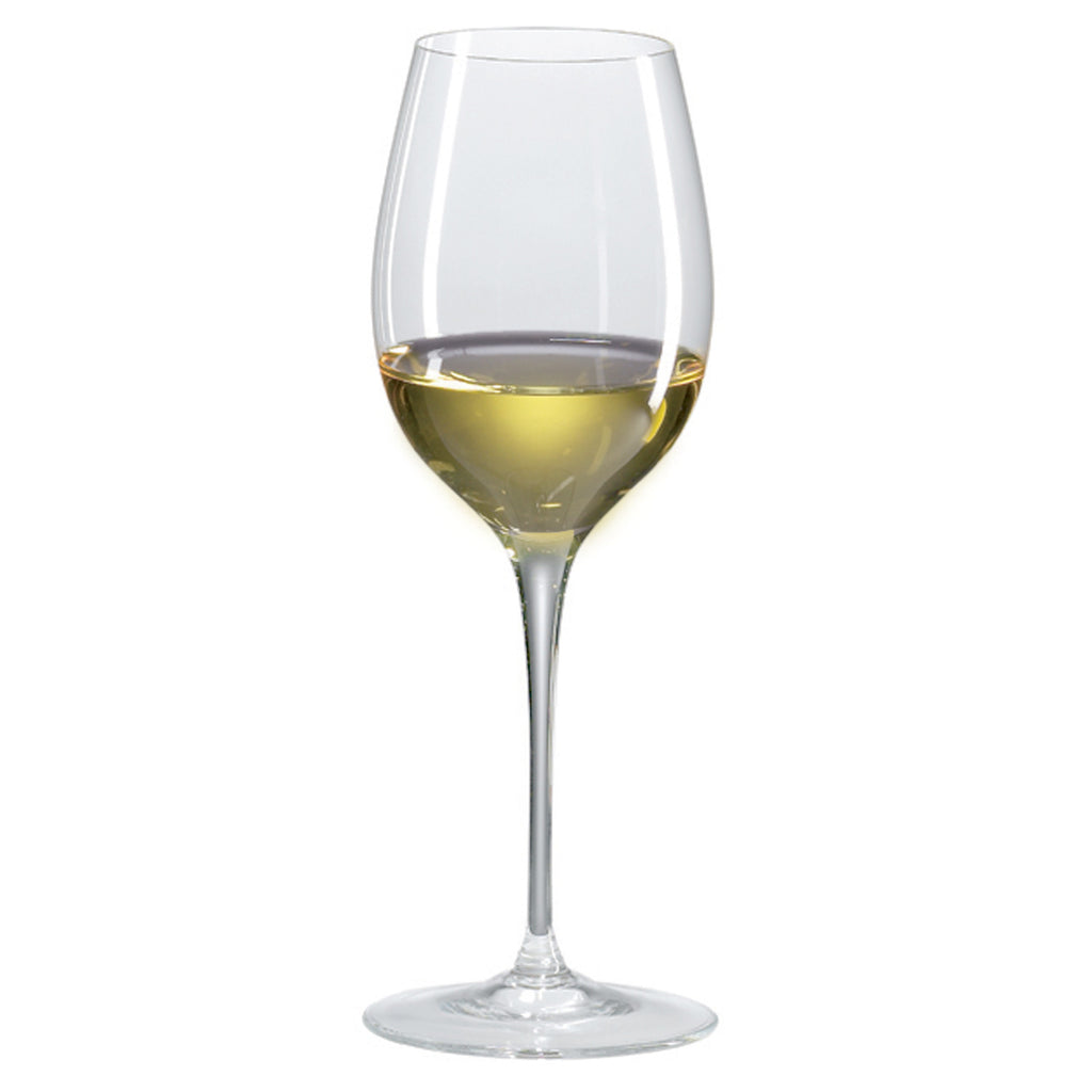 Classics Loire/Sauvignon Blanc Glass (Set of 4) with Free Microfiber Cleaning Cloth