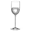 Classics Long Stem Mineral Water Glass, Clear (Set of 4) with Free Microfiber Cleaning Cloth
