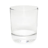 Classic Double Old Fashioned Glass (Set of 4) with Free Microfiber Cleaning Cloth
