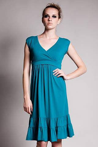 Dote 9th Street Dress in Turquoise