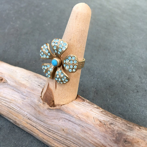 La Vie Parisienne Forget Me Not Ring