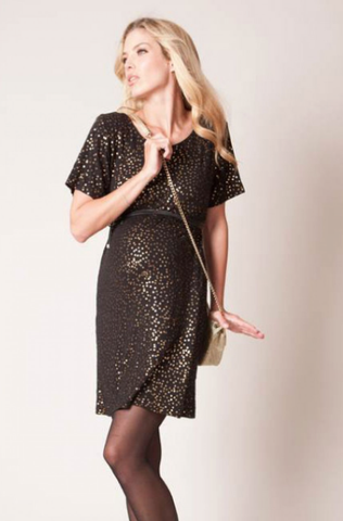 Seraphine Luella Sequined Maternity Dress