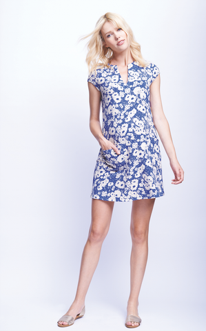 Maternal America Shift Dress with Pockets
