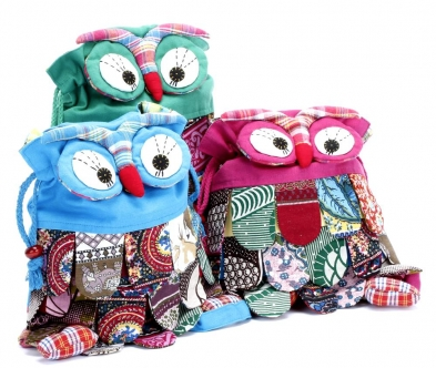Peppercorn Kids Owl Backpack