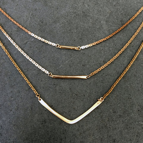 Tiffany Kunz Triad Necklace
