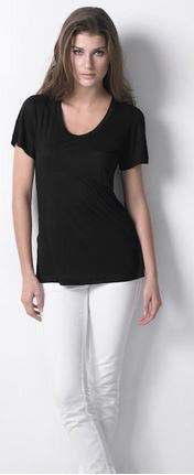 Dote Pocket Tee in Black