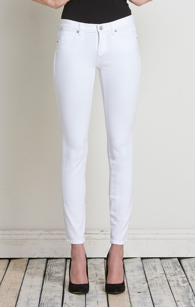 Henry and Belle Ideal Ankle Jeans Skinny in White