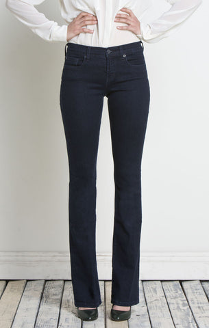Henry and Belle Micro Flare Jeans in Pure Indigo