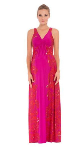 Olian Maxi Dress in Pink