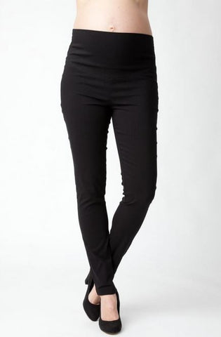 Ripe Maternity Suzie Straight Pants in Black