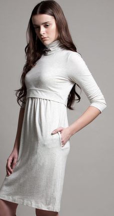Dote Skater Dress in Cream