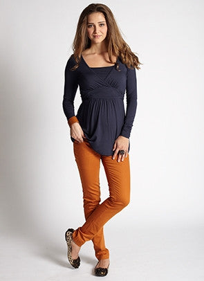 Mothers En Vogue Sexy Skinny Underbelly Jeans in Camel