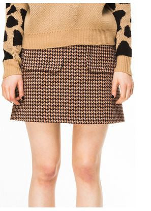 Kling Manatee Wool Skirt