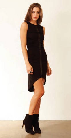 SW3 Bespoke Brent Cross Jersey High-Low Dress