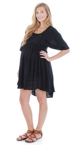 Everly Grey Willow Dress in Black