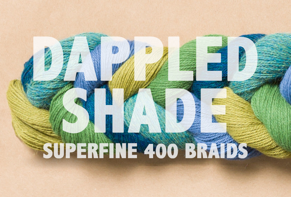 Superfine 400 Braids | DAPPLED SHADE