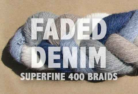 Superfine 400 Braids | FADED DENIM