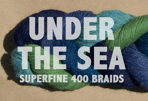Superfine 400 Braids | UNDER THE SEA