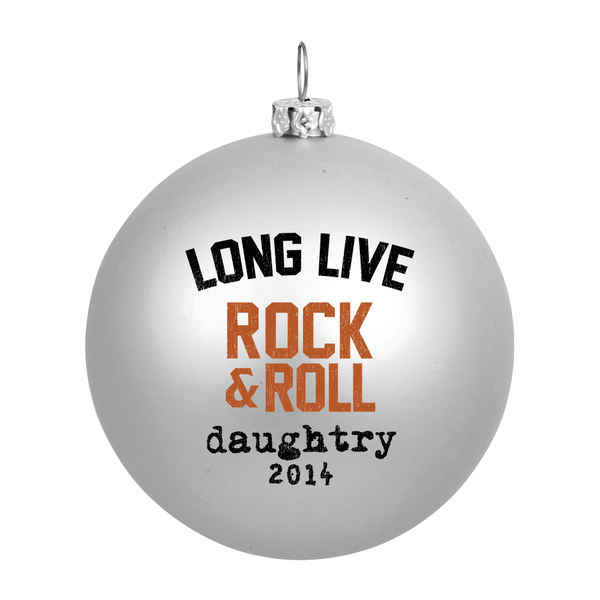 Long Live Rock & Roll Holiday Ornament