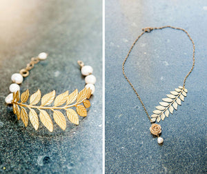 Our Oh So Elegant Branch Necklace and Bracelet
