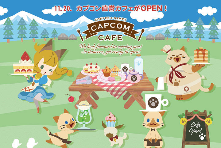 Calling All Gamers, You Can Now Feast At The New Capcom Café