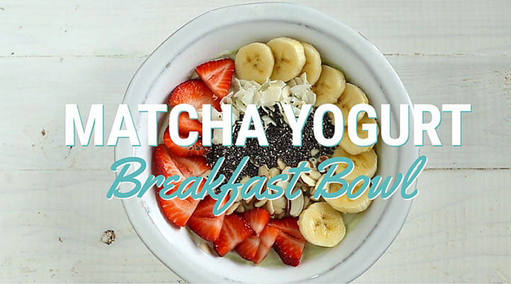 A Dash Of Matcha In Your Yogurt For A Hearty Breakfast