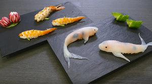 Making Sushi Look Like Koi Fish, How Absolutely Appropriate