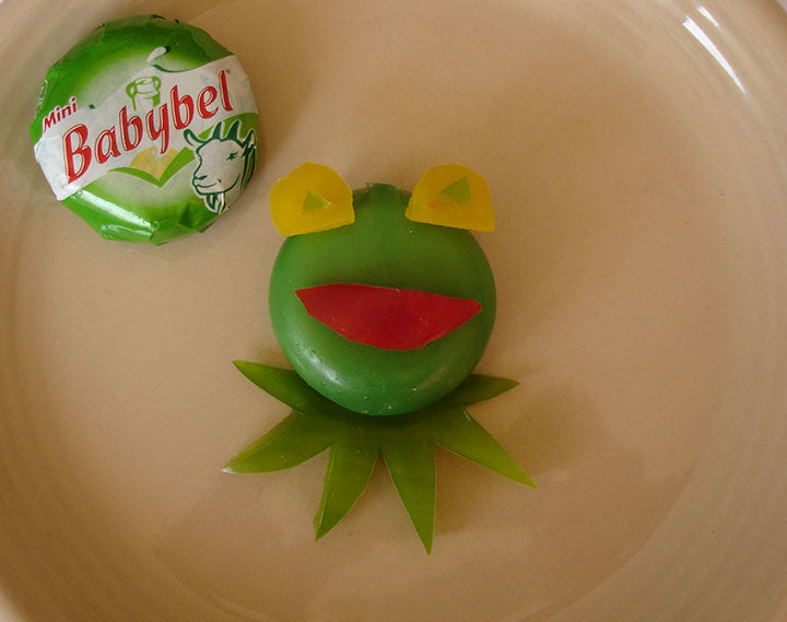 Babybel Kermit the Frog