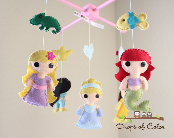 Disney Princess Baby Mobile